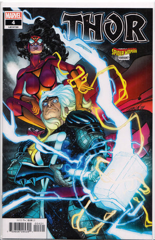 THOR #4 (SPIDER-WOMAN VARIANT) COMIC BOOK ~ Marvel Comics