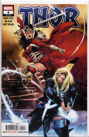 THOR #4 (1ST PRINT) COMIC BOOK ~ Marvel Comics