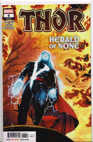 THOR #6 (1ST PRINT)(DONNY CATES & NIC KLEIN) ~ Key Issue ~ Marvel Comics