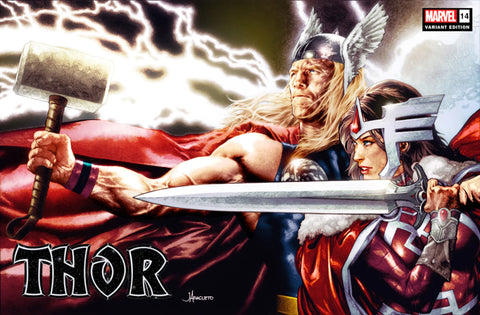 THOR #14 (JAY ANACLETO EXCLUSIVE TRADE VARIANT) COMIC BOOK ~ Marvel Comics