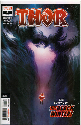 THOR #4 (EXCLUSIVE 2ND PRINT VARIANT) Comic Book ~ Marvel Comics