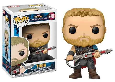 Funko POP! Marvel ~ THOR VINYL FIGURE ~ #240 Thor: Ragnarok Movie Version