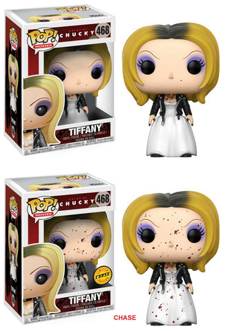 Funko POP! Movies ~ TIFFANY and CHASE BLOODY TIFFANY SET ~ Bride of Chucky