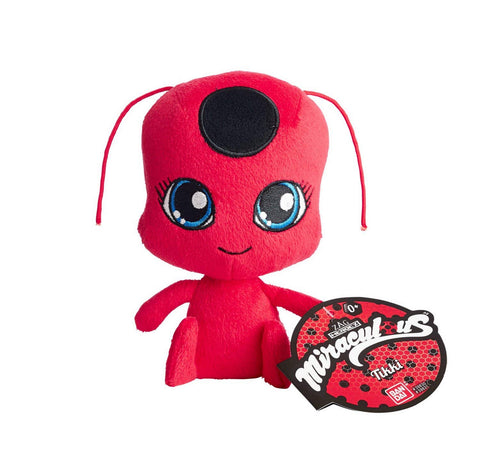 "Miraculous: Tales of Ladybug & Cat Noir ~ 6"" TIKKI PLUSH FIGURE ~ Bandai"