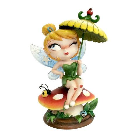 The World of Miss Mindy ~ 6-INCH TINKER BELL STATUE ~ Disney / Enesco