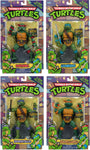 "TEENAGE MUTANT NINJA TURTLES ""CLASSIC"" COMPLETE ACTION FIGURE SET OF 4 (TMNT)"
