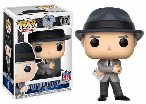 Funko POP! NFL ~ TOM LANDRY VINYL FIGURE ~ NFL LEGENDS ~ Football