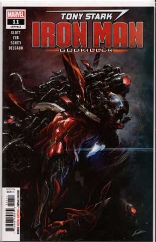 TONY STARK: IRON MAN #11 (GODKILLER VARIANT) COMIC BOOK ~ Marvel Comics