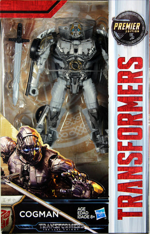 Transformers: Last Knight ~ COGMAN ACTION FIGURE ~ Deluxe Class