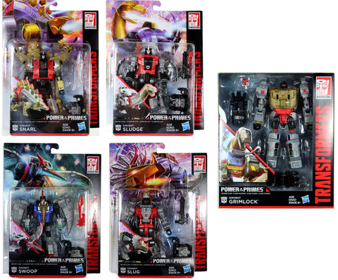 Transformers ~ DINOBOTS VOLCANICUS COMBINER SET ~ Power of the Primes