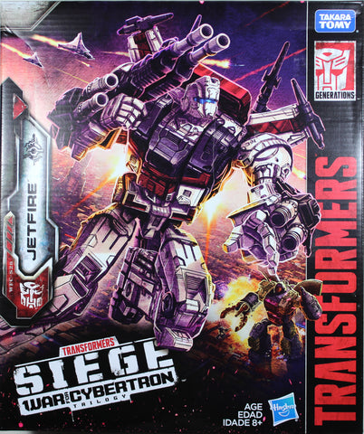 Transformers ~ JETFIRE ACTION FIGURE ~ Commander Class ~ Siege: War For Cybertron WFC-S28