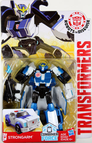 Transformers Warrior Class ~ STRONGARM Action Figure ~ Robots in Disguise