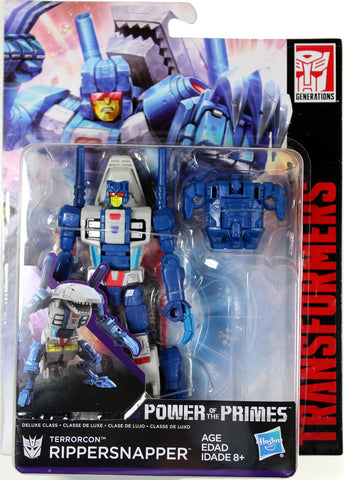 Transformers ~ RIPPERSNAPPER ACTION FIGURE ~ Deluxe Class ~ Power of the Primes