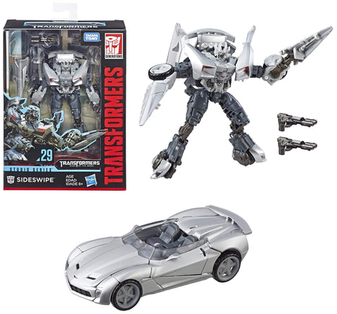 Transformers Studio Series ~ SIDESWIPE ACTION FIGURE #29 ~ Deluxe Class