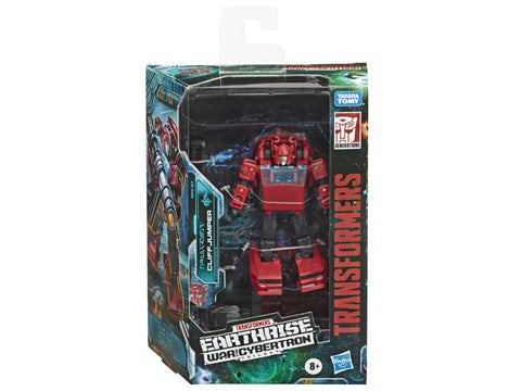 Transformers ~ CLIFFJUMPER ACTION FIGURE ~ Deluxe Class ~ Earthrise: War For Cybertron