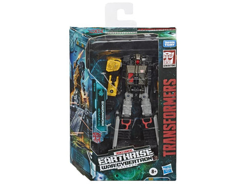 Transformers ~ IRONWORKS ACTION FIGURE ~ Deluxe Class ~ Earthrise: War For Cybertron