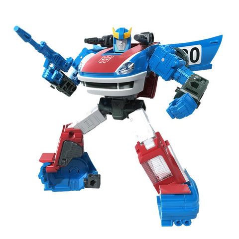 Transformers ~ SMOKESCREEN ACTION FIGURE ~ Deluxe Class ~ Earthrise: War For Cybertron