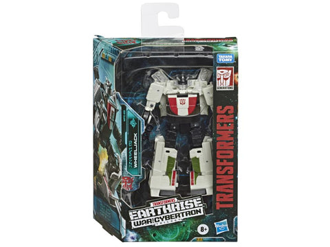 Transformers ~ WHEELJACK ACTION FIGURE ~ Deluxe Class ~ Earthrise: War For Cybertron