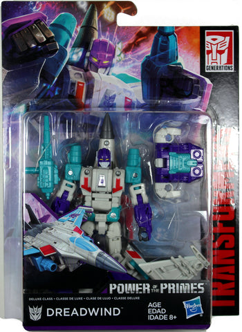 Transformers ~ DREADWIND ACTION FIGURE ~ Deluxe Class ~ Power of the Primes