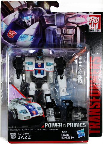 Transformers ~ JAZZ ACTION FIGURE ~ Deluxe Class ~ Power of the Primes