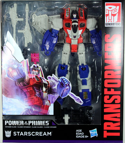 Transformers ~ STARSCREAM ACTION FIGURE ~ Voyager Class ~ Power of the Primes