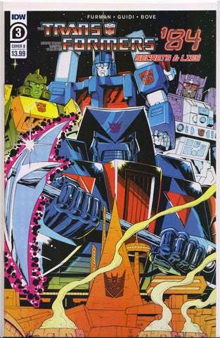TRANSFORMERS #1 (VOLUME 4)(FREDDIE WILLIAMS VARIANT) COMIC BOOK ~ IDW Publishing