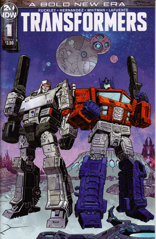 TRANSFORMERS #1 (VOLUME 4)(GABRIEL RODRIGUEZ) COMIC BOOK ~ IDW Publishing