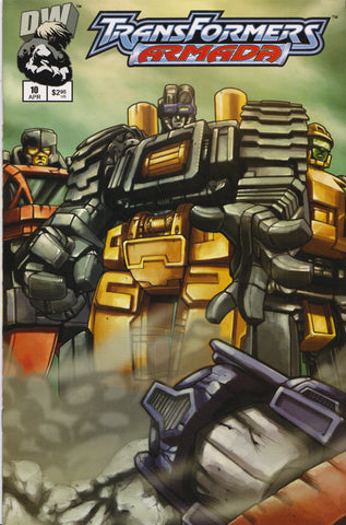 TRANSFORMERS ARMADA #10 COMIC BOOK ~ Dreamwave