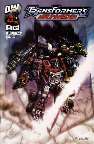 TRANSFORMERS ARMADA #13 COMIC BOOK ~ Dreamwave