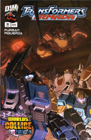 TRANSFORMERS ARMADA #16 COMIC BOOK ~ Dreamwave