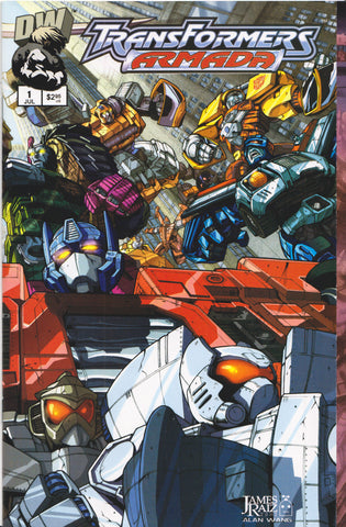 TRANSFORMERS ARMADA #1 COMIC BOOK ~ Dreamwave