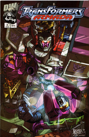 TRANSFORMERS ARMADA #2 COMIC BOOK ~ Dreamwave