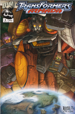 TRANSFORMERS ARMADA #3 COMIC BOOK ~ Dreamwave