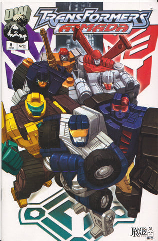 TRANSFORMERS ARMADA #5 COMIC BOOK ~ Dreamwave