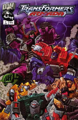 TRANSFORMERS ARMADA #7 COMIC BOOK ~ Dreamwave