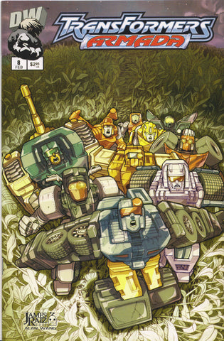 TRANSFORMERS ARMADA #8 COMIC BOOK ~ Dreamwave