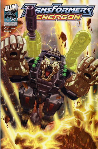 TRANSFORMERS ENERGON #20 COMIC BOOK ~ Dreamwave