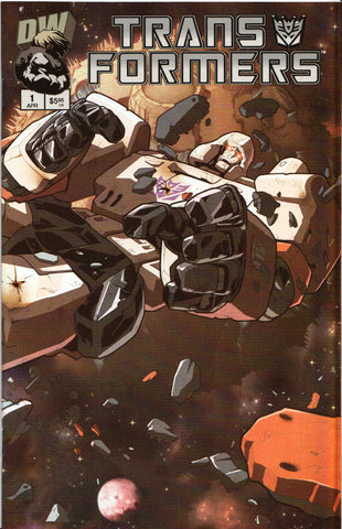 TRANSFORMERS #1 (HOLOFOIL VARIANT) COMIC BOOK ~ Dreamwave