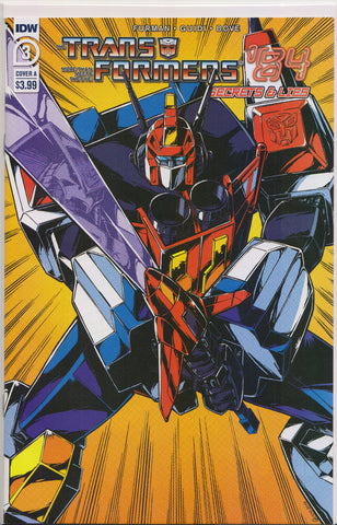 TRANSFORMERS '84: SECRETS & LIES #3 (COVER A VARIANT) COMIC BOOK ~ IDW