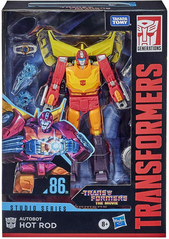 Transformers: Studio Series ~ HOT ROD (#86-04) FIGURE ~ Voyager Class