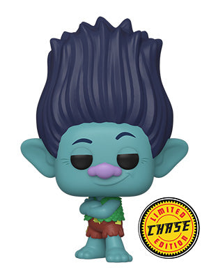 Funko POP! Movies ~ BRANCH (CHASE) ~ Trolls: World Tour (PRE-ORDER)