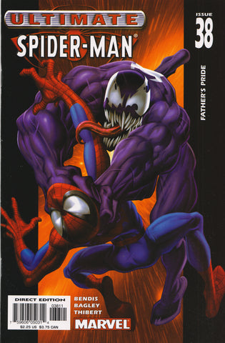 ULTIMATE SPIDER-MAN #38 COMIC BOOK ~ Mark Bagley Art ~ Marvel Comics