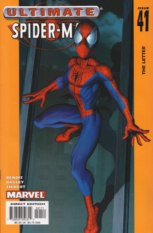 ULTIMATE SPIDER-MAN #41 COMIC BOOK ~ Mark Bagley Art ~ Marvel Comics