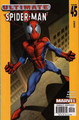 ULTIMATE SPIDER-MAN #45 COMIC BOOK ~ Mark Bagley Art ~ Marvel Comics