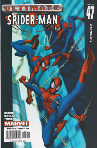 ULTIMATE SPIDER-MAN #47 COMIC BOOK ~ Mark Bagley Art ~ Marvel Comics