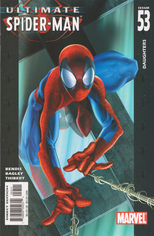 ULTIMATE SPIDER-MAN #53 COMIC BOOK ~ Mark Bagley Art ~ Marvel Comics
