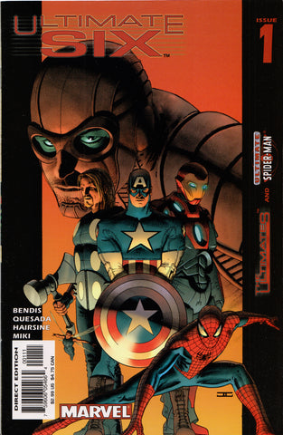 ULTIMATE SIX #1 COMIC BOOK (BRIAN BENDIS) ~ Marvel Comics