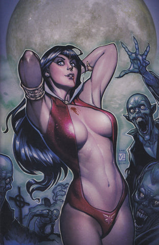 VAMPIRELLA #12 (CHAD HARDIN EXCLUSIVE VIRGIN VARIANT)(2020) COMIC ~ Dynamite