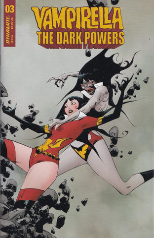 VAMPIRELLA: THE DARK POWERS #3 (JAE LEE VARIANT) ~ Dynamite Entertainment