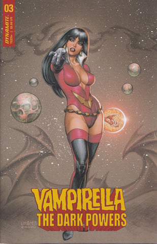 VAMPIRELLA: THE DARK POWERS #3 (LINSNER VARIANT) ~ Dynamite Entertainment
